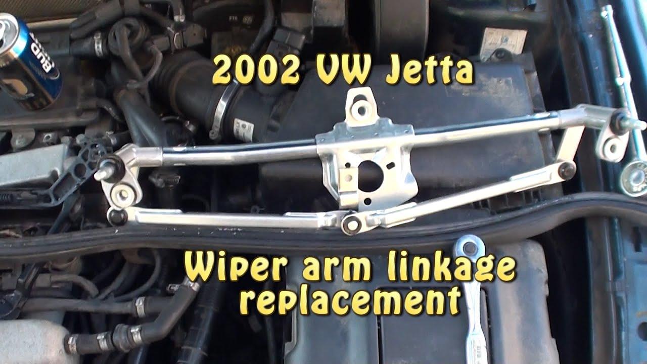 vw jetta wiper linkage replacement 2002 vw jetta [ 1280 x 720 Pixel ]