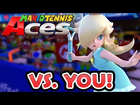 Competitive Mario Tennis Aces — Playing With Viewers Livestream