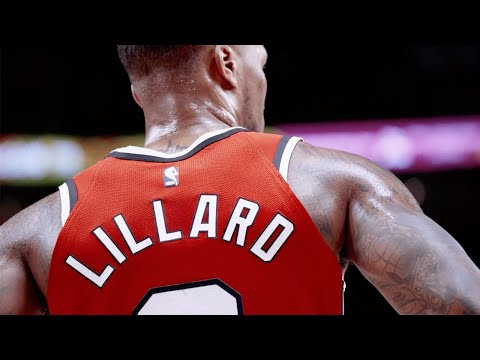 The Blazers made a pretty cool highlight package from Dame's past few weeks of play