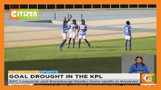 KPL | AFC Leopards and Kariobangi Sharks share spoils in Kasarani