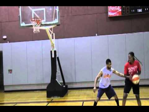 Chamique Holdsclaw Post Moves