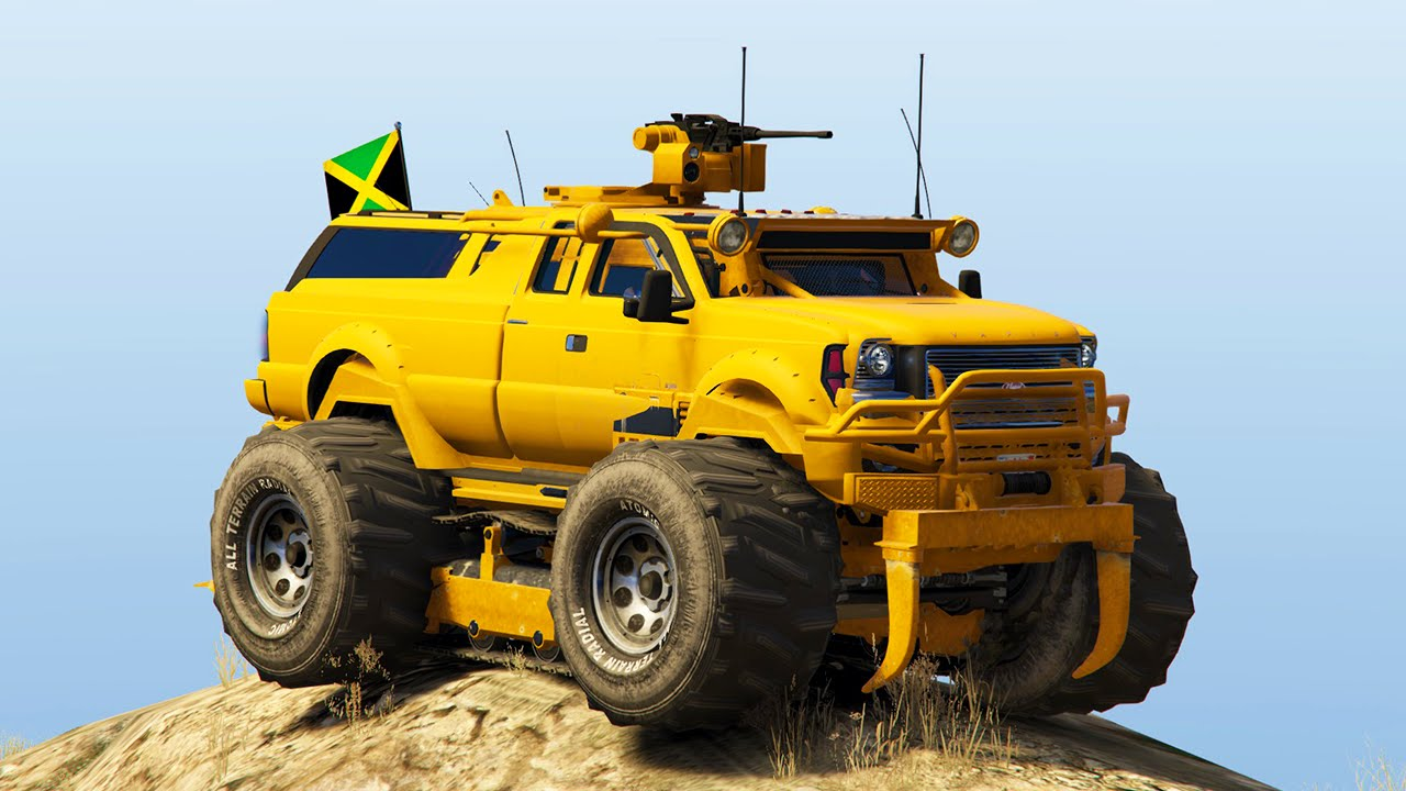 WORLD\'S STRONGEST MODDED VEHICLE! (GTA 5 Mods Funny Moments) - YouTube