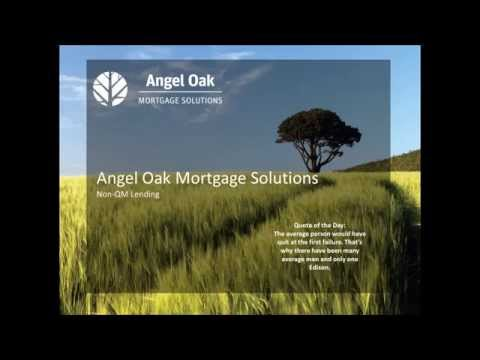 National Mortgage Professional - Angel Oak Instant Webinar