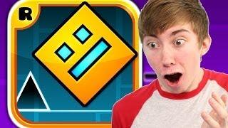 GEOMETRY DASH (iPhone Gameplay Video) thumbnail