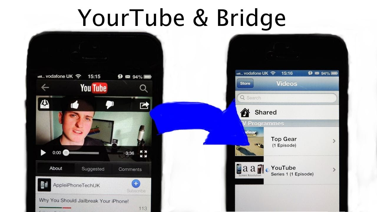 How To Import Youtube Videos Into Your Video Library (cydia)
