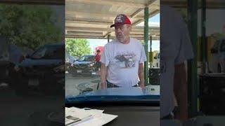 Upset Man Demands Lady Turns Off Car at Sonic    ViralHog