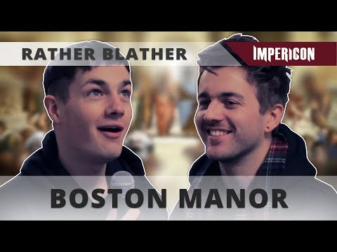 Rather Blather with Boston Manor