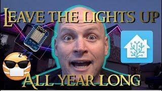 Customizable Animated LED Christmas (& Every Holiday) Lights