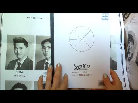 Unboxing EXO 1st Album XOXO (Hug Version)