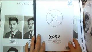 Unboxing EXO 1st Album XOXO (Hug Version)