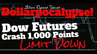Dow Futures Trading Halted After Dropping 1,000 Points,  Dollarpocalypse crushing Global Markets