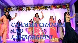 Best Sisters group Dance ||CHAMMA CHAMMA||LAMBORGHINI|| CHOREOGRAPHY||Shashank and Ashwani