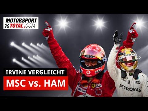 Eddie Irvine: Michael Schumacher was another level than Lewis Hamilton