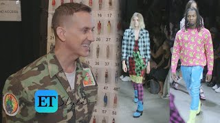 Jeremy Scott Talks Inspiration for His Latest Collection Backstage During NYFW (Exclusive) thumbnail
