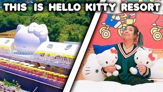 I STAYED AT A $2000 HELLO KITTY RESORT