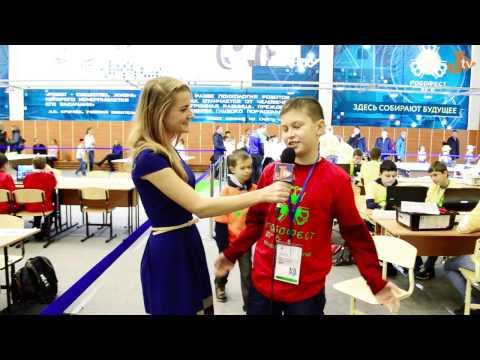 «Робофест ЮГ 2016» Краснодар. Репортаж с фестиваля о робототехнике на Юниор ТВ