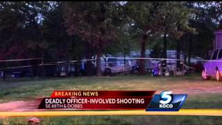 Man killed in officer-involved shooting in southeast Oklahoma City