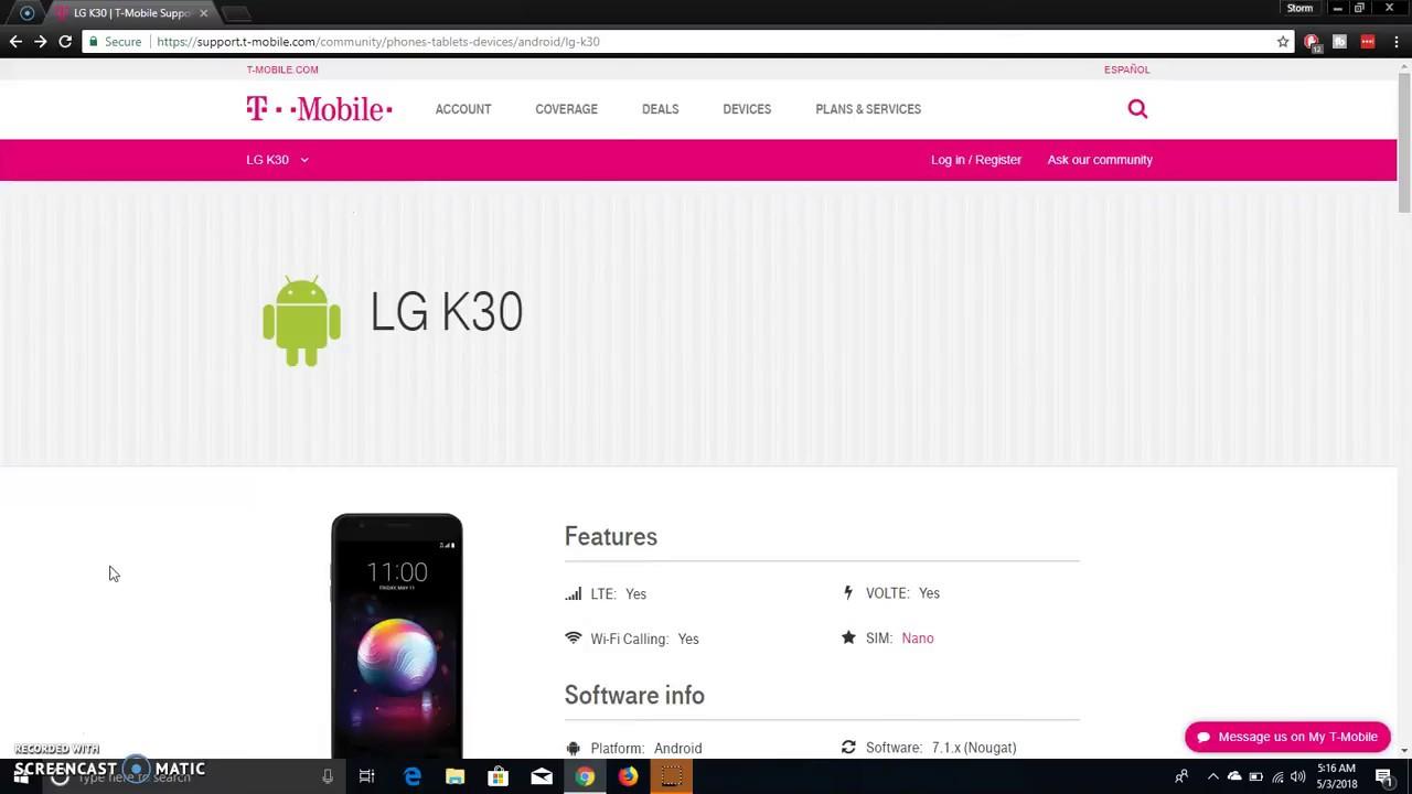 First Look: LG K30 (T-Mobile/MetroPCS)