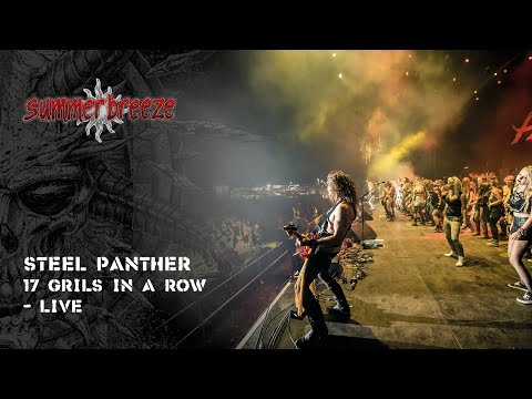 Steel Panther – 17 Girls In A Row (LIVE @ Summer Breeze Open Air 2016)