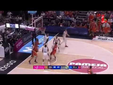 Valencia 82 - 86 Real Madrid (15.10.2017 // by LTV)