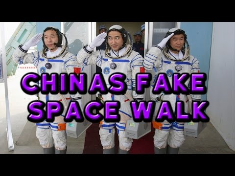 China's FAKE Space Walk - Flat Earth