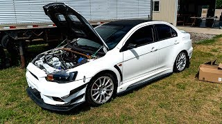 Rebuilding the Abandoned Evo X