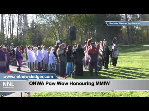 ONWA Pow Wow - Murdered and Missing Indigenous Women