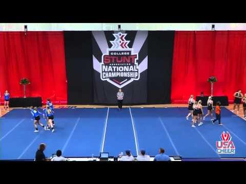 Quarter 1 - 2015 Div. I STUNT National Championship