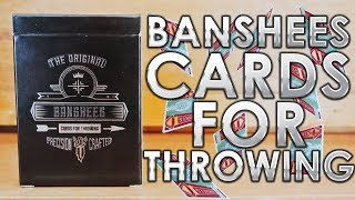 Deck Review - Banshees Cards For Throwing [HD]