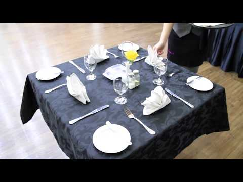 table-set-up-(f&b-service)