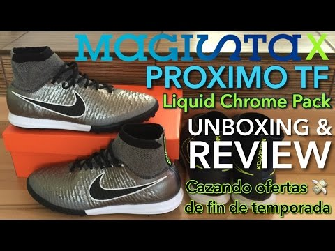 "Nike MagistaX Proximo TF ""Liquid Chrome Pack"" 
