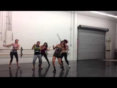 Pixie Stixx Burlesque dance workshop - Choreo 2
