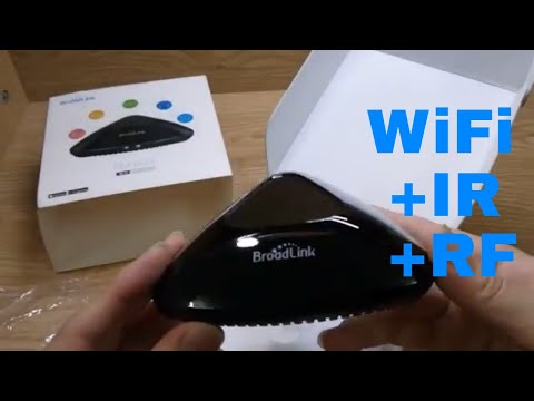 Broadlink RM Pro+ Compatible With Amazon Echo/Alexa Wifi+IR+RF Universal Remote Controller