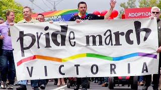Pride March Victoria 2015 - St Kilda parade - Melbourne Australia