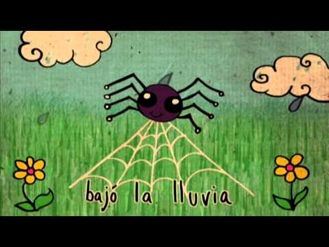 Free Download Itsy Bitsy Spider In Spanish - La Itsy Bitsy Araña - Music With Sara -nursery Rhyme Mp3 dan Mp4
