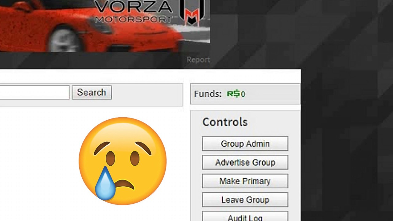 The Roblox Group Funds Are Broken No Fix Youtube