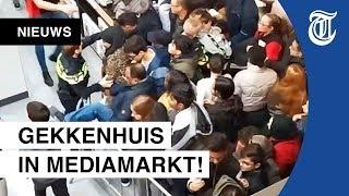 Extreme Chaos Bij Opening Mediamarkt