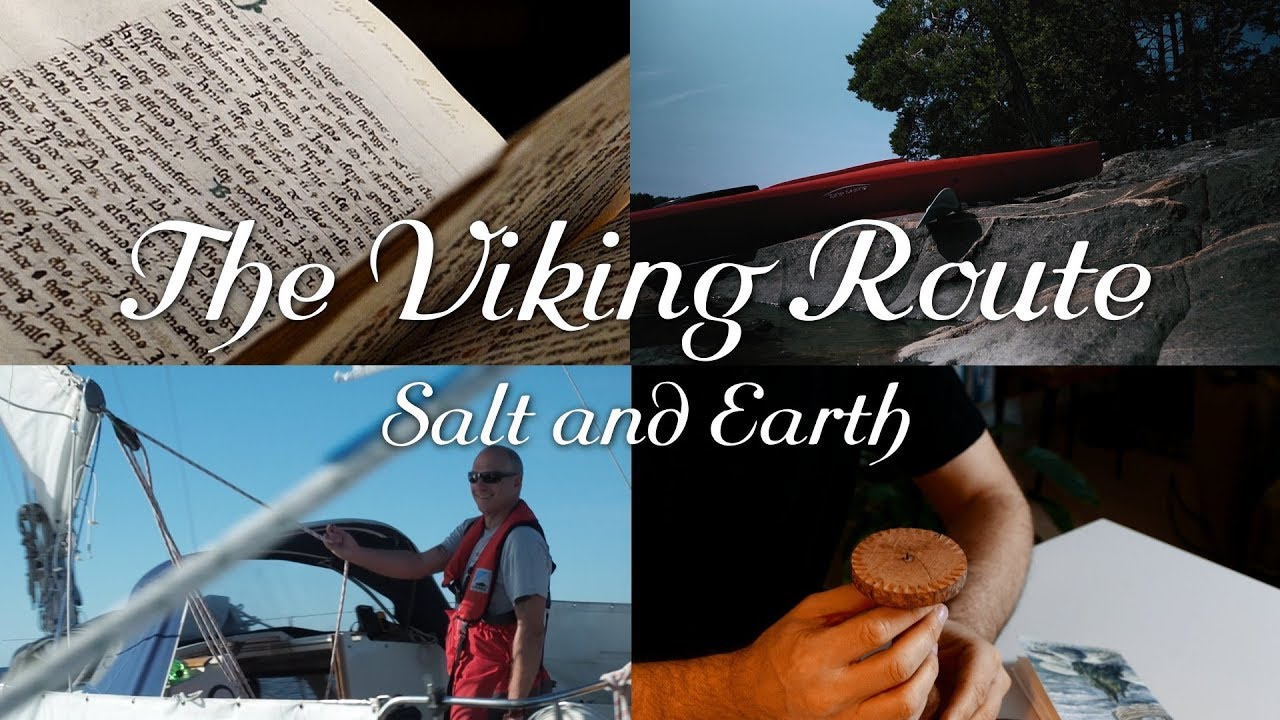 The Viking Route - Salt and Earth (movie trailer and project description) (english)