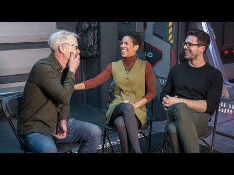 Adam Savage Chats with The Expanse's Dominque Tipper and Steven Strait