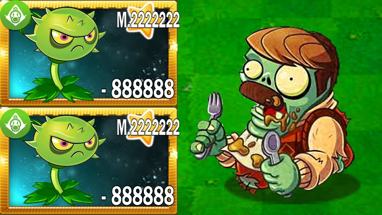 Download Plants vs Zombies 2  - Super Plant Peashooter vs Homing Thistle Max Power Up Level Mastery 2222222