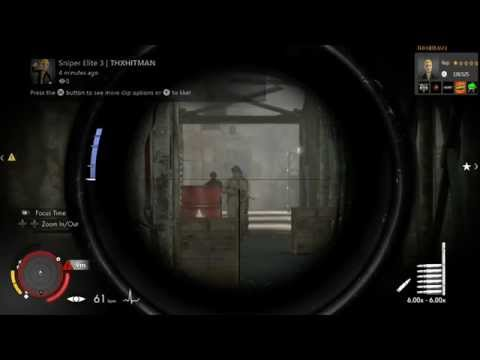 Sniper Elite 3 - Triple headshot.