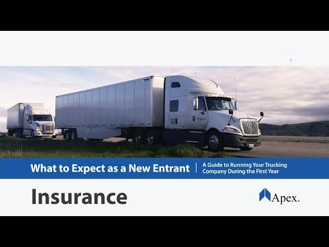 How to Get Commercial Trucking Insurance for a New Trucking