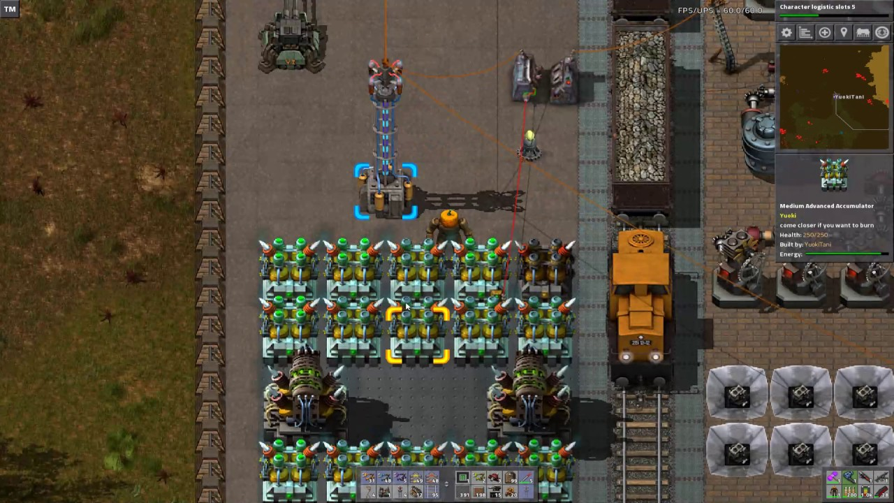 Factorio - Yuoki Industries - Stony Planet - 62 - Stromschalter + ...