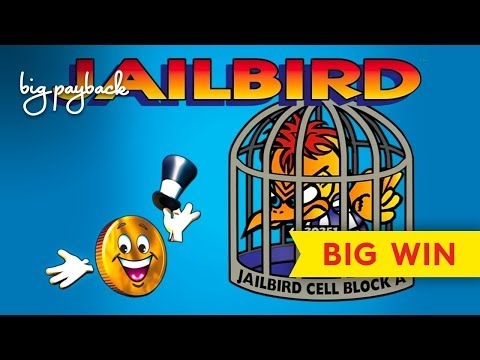 Mr. Cashman Jailbird Slot - ALL FEATURES, AWESOME SESSION! - 동영상