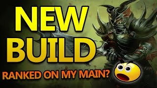 NEW BUILD RANKED JARVAN JUNGLE WITH SICKMOTION - Diamond League of Legends Commentary