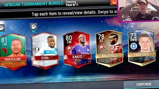 FIFA Mobile African Tournament Pack Opening!! UNBELIEVABLE PULLS!! 92! | FIFA Mobile Soccer iOS