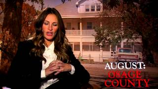 August: Osage County: Julia Roberts Official Movie Interview