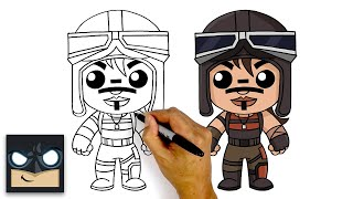 How To Draw Forтnite | RENEGADE RAIDER