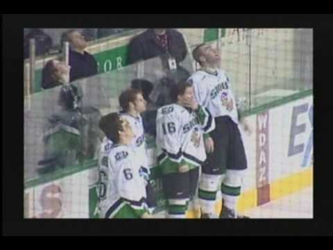 North Dakota Fighting Sioux Seniors Final Skate