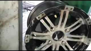 Чудеса аргонной сварки при правке дисков(На видео представлен сложный ремонт легкосплавного диска с восстановлением геометрии диска. Часть диска..., 2016-06-27T05:42:52.000Z)